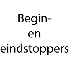Begin- en eindstoppers