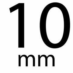 Satijnband stip 10 mm
