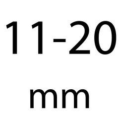 11 t/m 20 mm