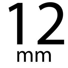 Drukkers 12 mm