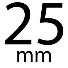 Organza 25 mm