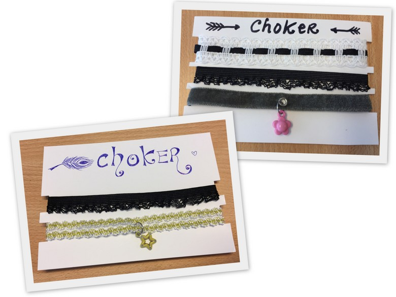 Karens fournituren BLOG - chokers