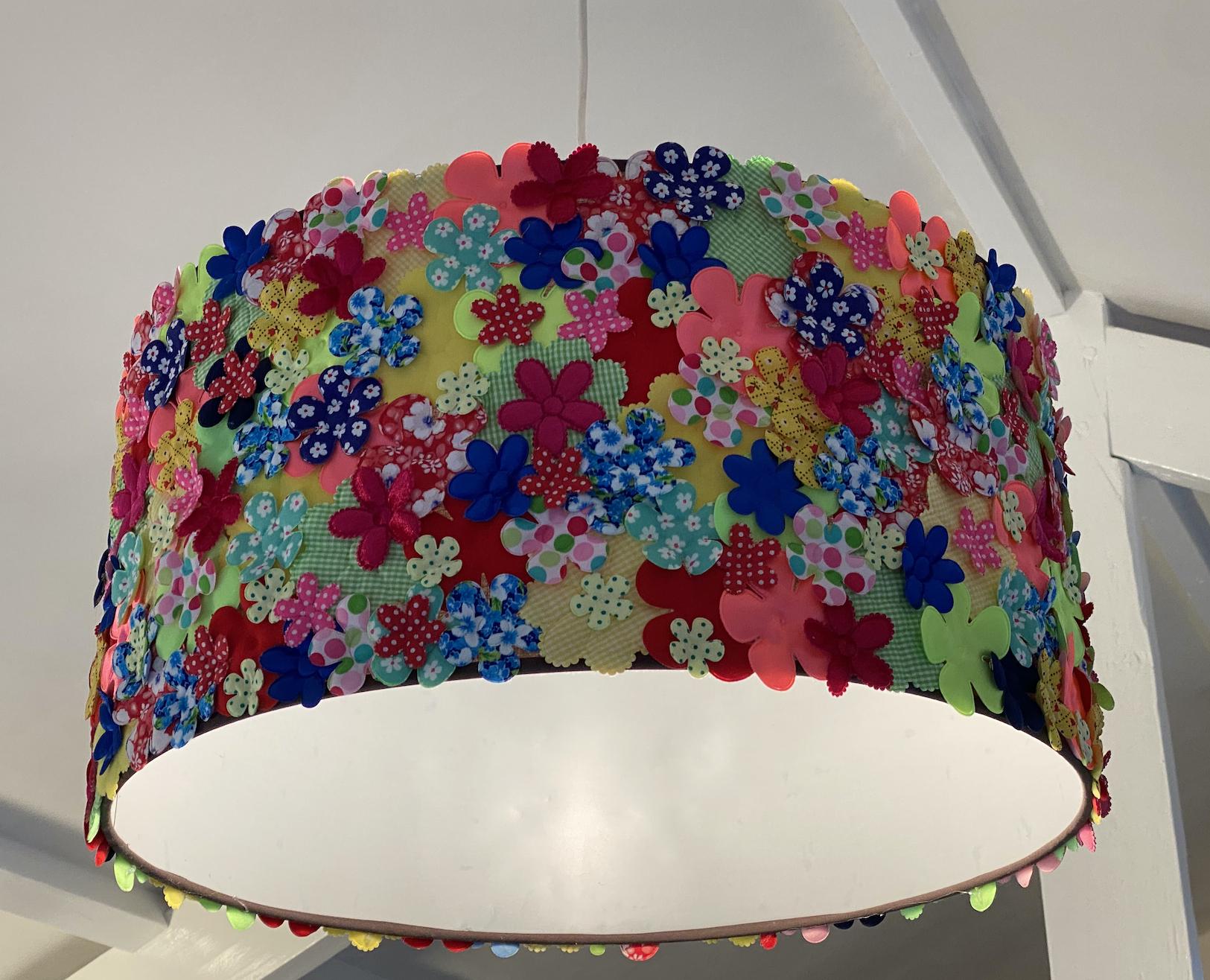 Bloemen lampenkamp