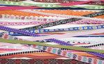 Assorti 25 hippe bandjes (25 x ca. 1 m)