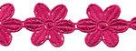 Fuchsia bloemband 50 mm (ca. 4 m)