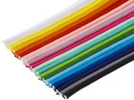 SET: 32 kleuren piping-/paspelband DIK - 4 mm koord (ca. 2080 meter)