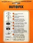 Butofix - knopen aanzetten zonder naald en draad - zwart (10 stuks per verpakking)