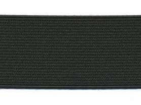 Zwart elastiek ca. 35 mm (50 m)