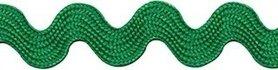 Groen zig-zag band 10 mm (ca. 16 meter)