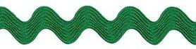 Groen zig-zag band 7 mm (ca. 32 meter)