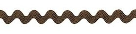 Legergroen zig-zag band 4 mm (ca. 32 meter)