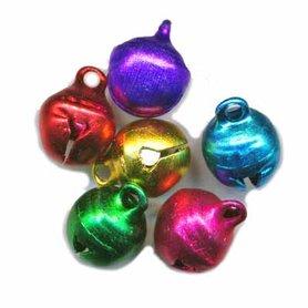 Belletjes mix kleuren 10 mm (ca. 200 stuks)
