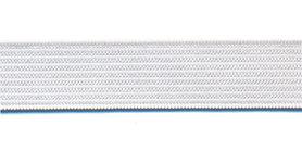 Wit BUDGET elastiek ca. 15 mm (100 m)