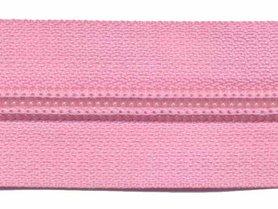 Nylon rits roze #513 maat 5 (ca. 5 m)