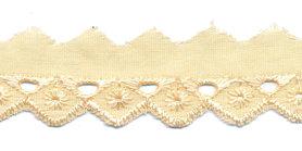 Broderie ivoor 25 mm (ca. 13,5 m)