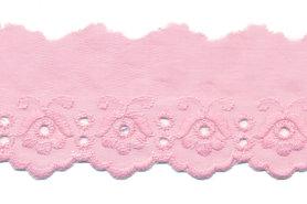 Broderie roze 100% KATOEN 50 mm #1303 (ca. 13,5 m)