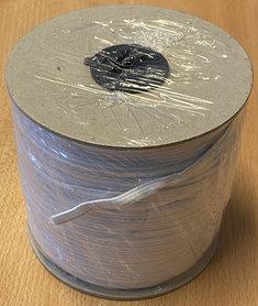 Wit elastiek ca. 5 mm (100 m)