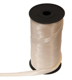Ivoor biaisband satijn 13 mm (ca. 90 m)