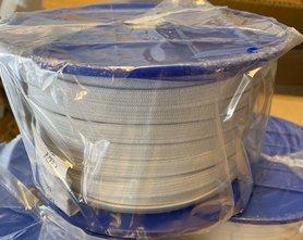 Wit BUDGET elastiek ca. 10 mm (100 m)