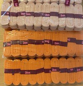 ZALM katoenen biaisband gevouwen 20mm - 20 bundels van 3 meter (60 meter)