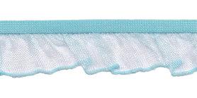 IJsblauw roezel elastiek 19 mm (ca. 10 meter)