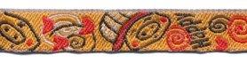 Oranje biggetjes-band 12 mm (ca. 22 m)