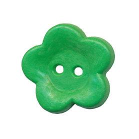 Bloemknoop groen 25 mm (ca. 25 stuks)