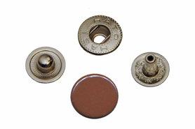 Drukker bruin 12 mm, type VT5 (ca. 25 stuks)