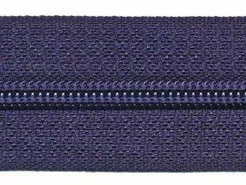 Nylon rits donker blauw #919 maat 5 (ca. 5 m)