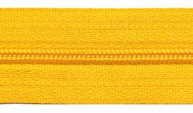 Nylon rits geel #506 maat 3 (ca. 5 m)