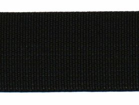 Tassenband 38 mm zwart STEVIG (50 m)