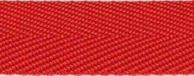 Rood keperband 25 mm (ca. 45 m)