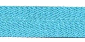 Baby blauw keperband 25 mm (ca. 45 m)