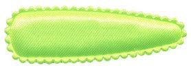 Haarkniphoesje NEON geel/groen satijn effen 5 cm (ca. 100 stuks)