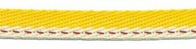 Geel-creme 'Japans' band 10 mm (ca. 25 m)