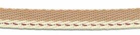 Zand-creme 'Japans' band 10 mm (ca. 25 m)