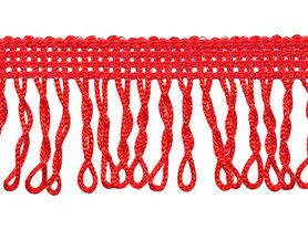 Franjeband gedraaid rood ca. 32 mm (ca. 22 meter)