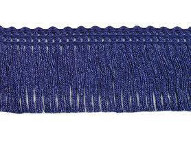 Franjeband donker blauw ca. 30 mm (ca. 22 meter)