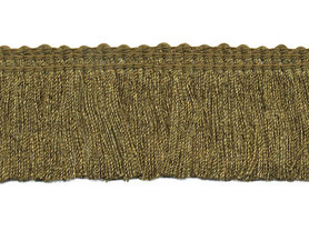 Franjeband legergroen ca. 30 mm (ca. 22 meter)
