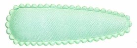 Haarkniphoesje mintgroen satijn effen 5 cm (ca. 100 stuks)