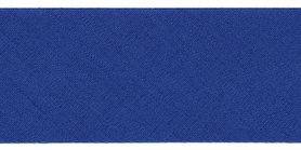 Kobalt blauw #17 ongevouwen biaisband 30 mm (ca. 10 meter)