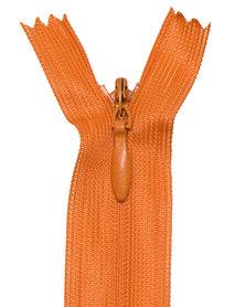 Blinde rits oranje #154 22,5 cm (5 stuks)