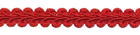 Galonband rood 9 mm (ca. 16 meter)