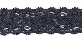 Elastisch kant donker blauw ca. 22 mm (ca. 10 m)