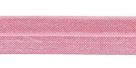Lichtroze #004 elastisch biaisband 20 mm (ca. 25 m)