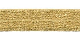 Goud #200 elastisch biaisband 20 mm (ca. 25 m)