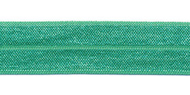 Appelblauwzeegroen #102 elastisch biaisband 20 mm (ca. 25 m)