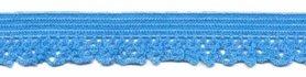 Elastisch kant licht blauw 12 mm (ca. 25 m)
