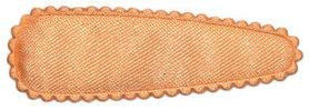 Haarkniphoesje zalm/oranje satijn effen 5 cm (ca. 100 stuks)