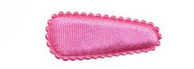 Haarkniphoesje satijn roze 3 cm (ca. 100 stuks)